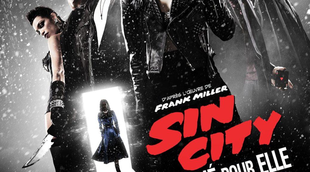 """Affiche du film """"Sin City : J'ai tué pour elle"""""""