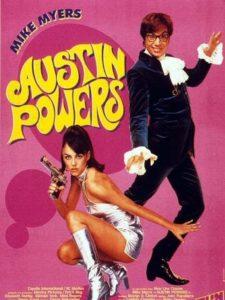 """Affiche du film """"Austin Powers"""""""