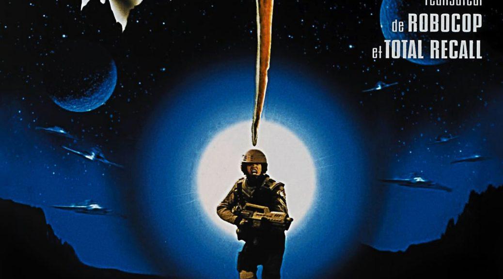 "Affiche du film ""Starship Troopers"""