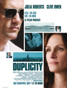 "Affiche du film ""Duplicity"""