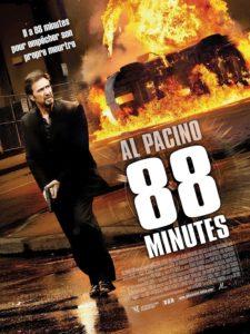 """Affiche du film """"88 minutes"""""""