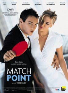 """Affiche du film """"Match point"""""""