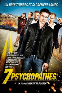 "Affiche du film ""7 Psychopathes"""