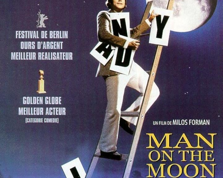"Affiche du film ""Man on the Moon"""