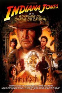 """Affiche du film """"Indiana Jones et le royaume du crâne de cristal"""""""