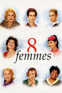 "Affiche du film ""8 femmes"""