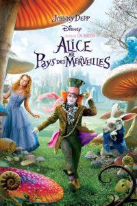 """Affiche du film """"Alice au pays des merveilles"""""""