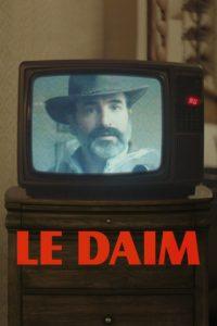 """Affiche du film """"Le Daim"""""""