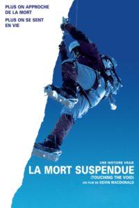 """Affiche du film """"La mort suspendue"""""""