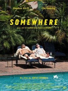 """Affiche du film """"Somewhere"""""""