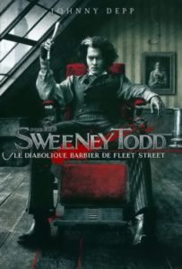"Affiche du film ""Sweeney Todd : Le Diabolique Barbier de Fleet Street"""