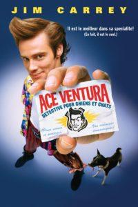 """Affiche du film """"Ace Ventura, détective pour chiens et chats"""""""