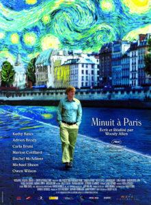 """Affiche du film """"Minuit à Paris"""""""