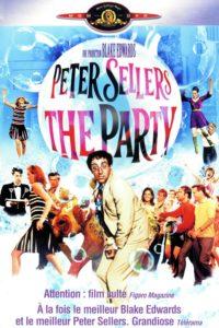 """Affiche du film """"La party"""""""
