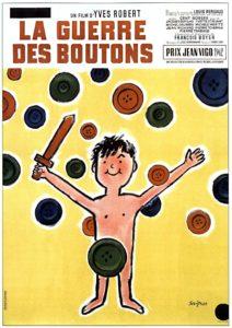 """Affiche du film """"La Guerre des boutons"""""""