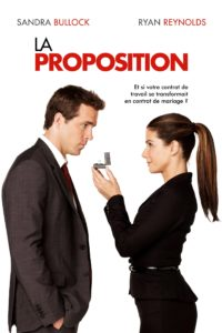 """Affiche du film """"La Proposition"""""""