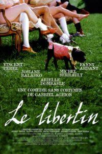 "Affiche du film ""Le Libertin"""
