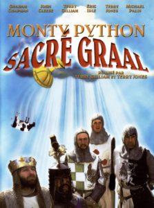 """Affiche du film """"Monty Python - Sacré Graal !"""""""