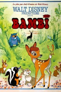 "Affiche du film ""Bambi"""