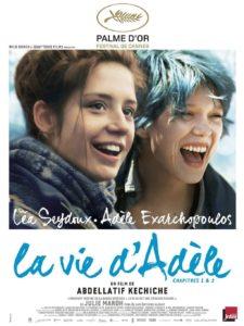 """Affiche du film """"La Vie d'Adèle - Chapitres 1 et 2"""""""