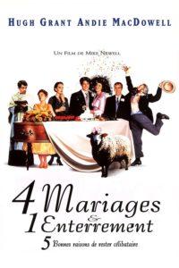"""Affiche du film """"4 mariages & 1 enterrement"""""""