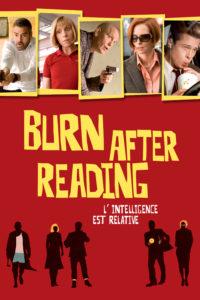 """Affiche du film """"Burn after reading"""""""
