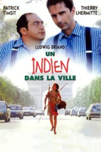 """Affiche du film """"Un indien dans la ville"""""""