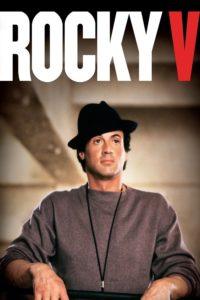 "Affiche du film ""Rocky V"""