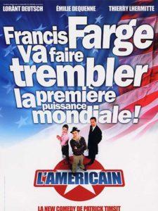 """Affiche du film """"L'américain"""""""