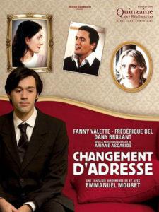 """Affiche du film """"Changement d'adresse"""""""