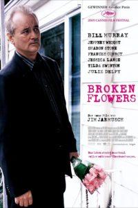 """Affiche du film """"Broken flowers"""""""