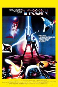"""Affiche du film """"Tron"""""""