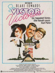 """Affiche du film """"Victor/Victoria"""""""