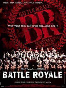 """Affiche du film """"Battle Royale"""""""