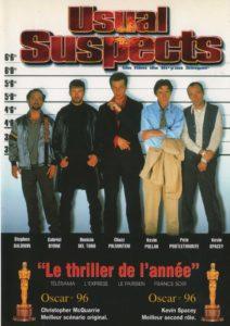 "Affiche du film ""Usual Suspects"""