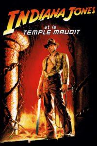 """Affiche du film """"Indiana Jones et le temple maudit"""""""