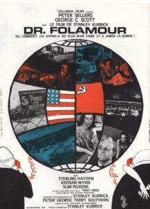 """Affiche du film """"Dr Folamour"""""""