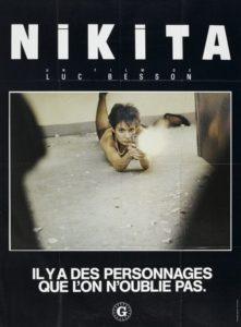 """Affiche du film """"Nikita"""""""