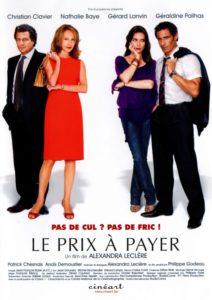 """Affiche du film """"Le prix à payer"""""""