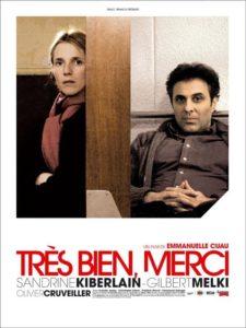 """Affiche du film """"Très bien, merci"""""""