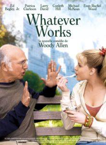 "Affiche du film ""Whatever works"""