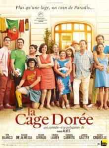 """Affiche du film """"La Cage dorée"""""""