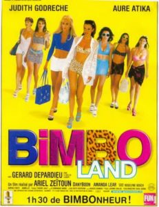 "Affiche du film ""Bimboland"""
