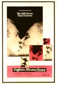 """Affiche du film """"L'affaire Thomas Crown"""""""