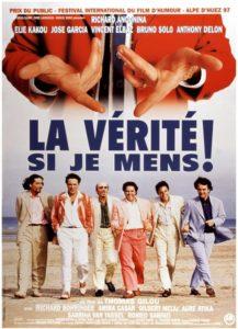"""Affiche du film """"La vérité si je mens !"""""""