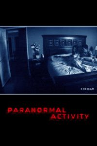 """Affiche du film """"Paranormal Activity"""""""
