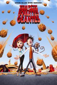 """Affiche du film """"Tempête de boulettes géantes"""""""