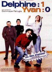 """Affiche du film """"Delphine 1, Yvan 0"""""""