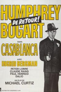 """Affiche du film """"Casablanca"""""""