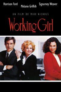 """Affiche du film """"Working girl"""""""